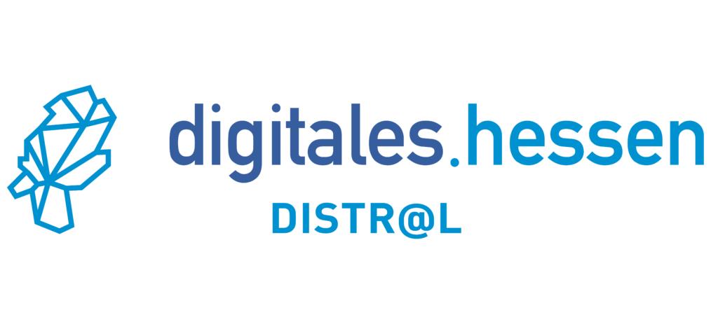 Logo digitales.hessen Distr@l