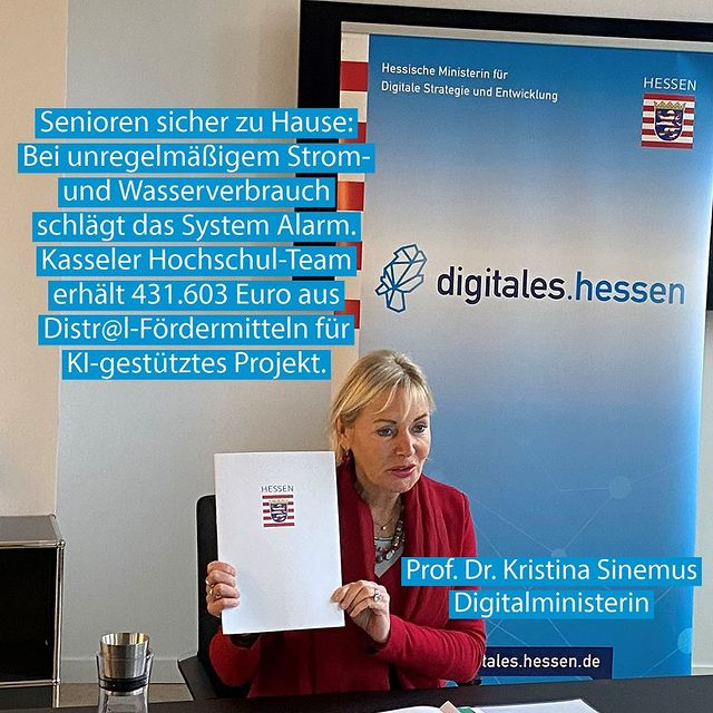 You are currently viewing Förderbescheidübergabe durch die Ministerin für Digitale Strategie und Entwicklung Prof. Dr. Kristina Sinemus